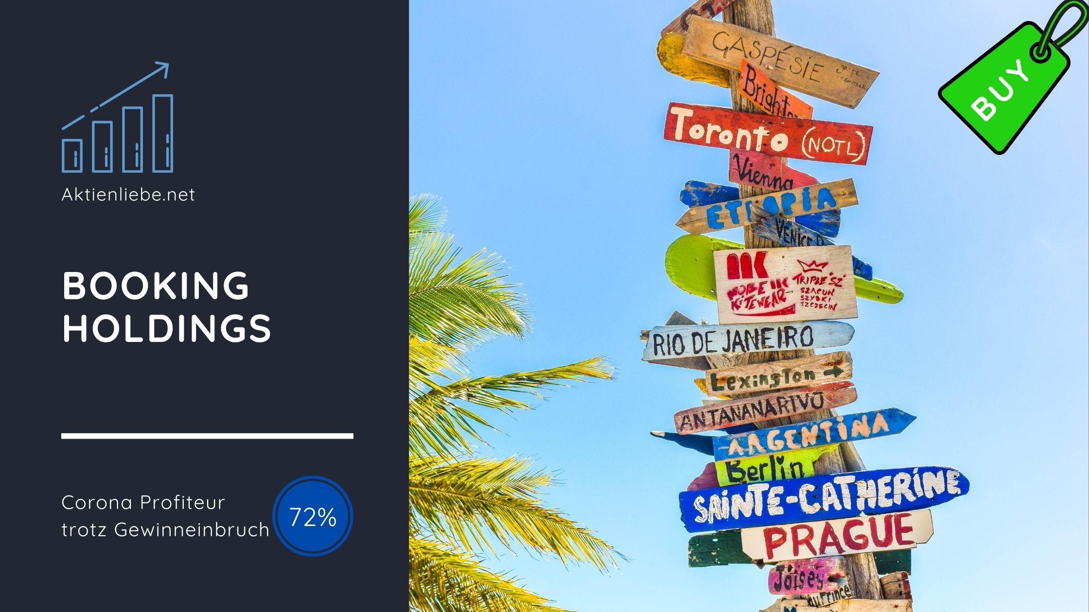 Booking Holdings – Online-Spezialist für Reisen-, Hotel- und ...