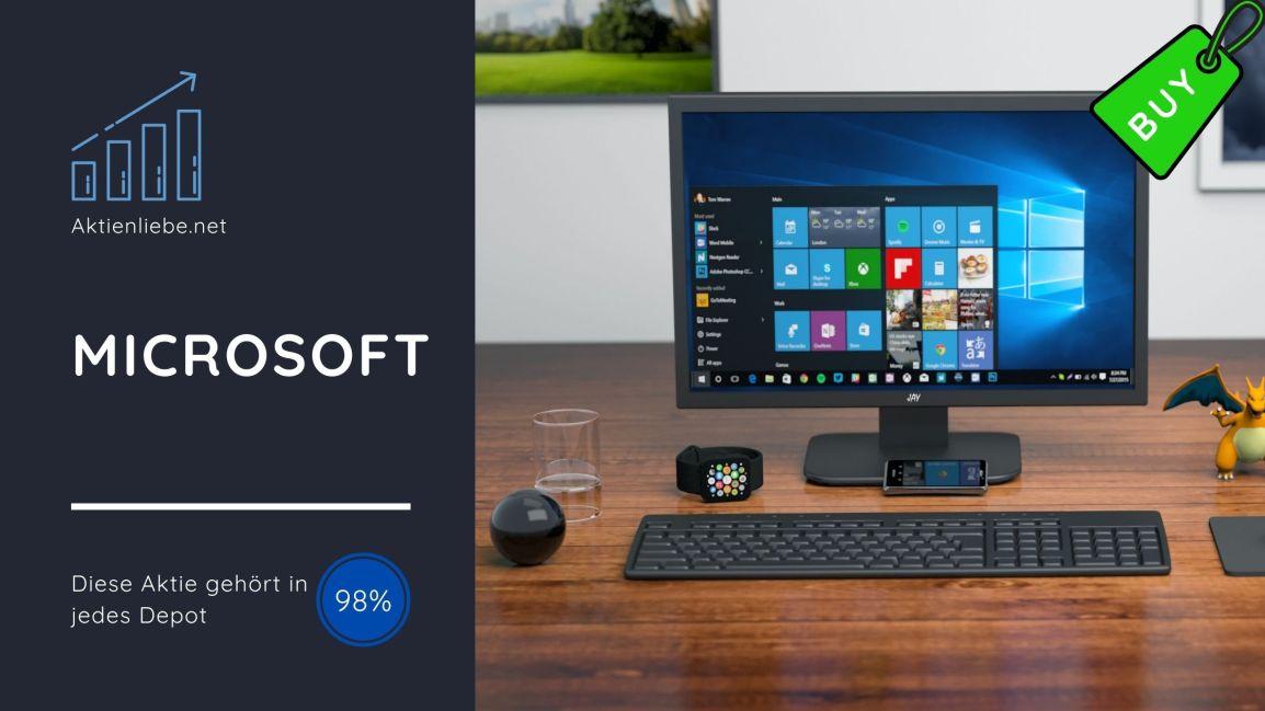 Microsoft – Diese Aktie gehört in jedesDepot